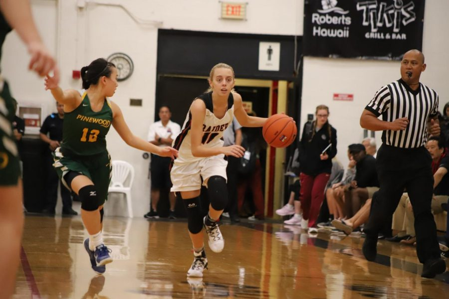 Alexis+Huntimer+drives+down+the+court+in+last+year%E2%80%99s+Iolani+Classic