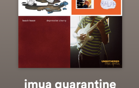 Imua's Quarantine Playlist on Spotify