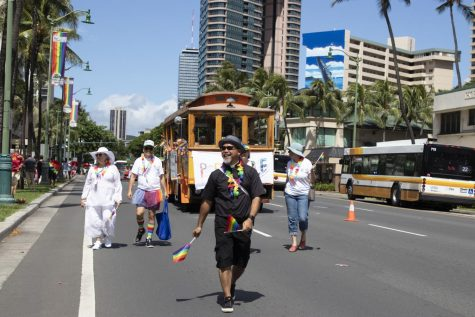 GSA Club Makes Presence Felt at Pride Parade