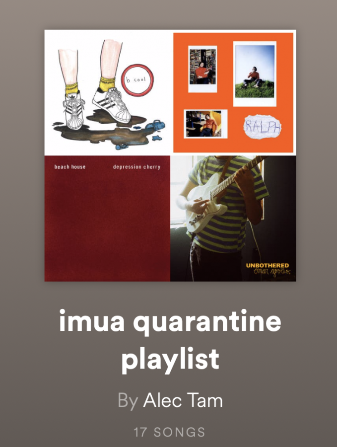 Imua%E2%80%99s+Quarantine+Playlist+on+Spotify