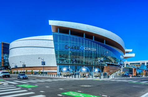 The newly completed Chase Center in San Francisco, California.