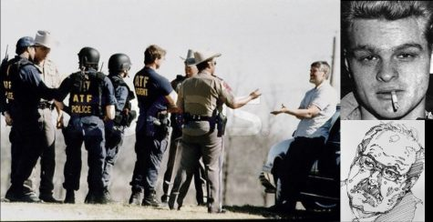 Waco Siege, Charles Starkweather, and Dennis Rader (drawing)